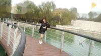 朱丽广场舞《好心情蓝蓝广场舞原创107欢快步子舞【爱发呆正背面】附教学》