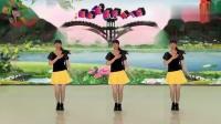 阳光美梅原创广场舞《DJ最美姑娘》32步编舞美梅
