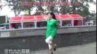 流星赶月老师双轮空竹教学(2)