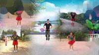 凤凰六哥&全国舞友粉丝合屏《红梅赞》编舞六哥;制作迎迎