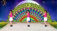 阳光美梅广场舞《动了我的情》原创32步健身舞正背面附教学