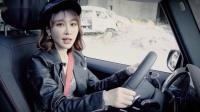 吴楠小姐姐试驾奔驰G500,粗狂中见细腻,硬汉中见柔