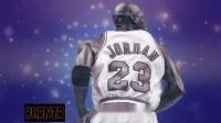 迈克尔·乔丹的扣篮比赛。(Michael Jordan's dunk contest)