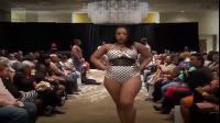 时尚内衣秀,劲爆重量级模特,身材爆表