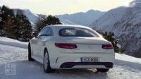 2015 奔驰S500 Coupe 4MATIC 雪地行驶