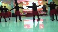 中山公园欣怡队在欢迎姥姥老师的现场表演小王子一套.2018.12.9