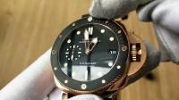 专属小手腕的沛 XF出品沛纳海pam684玫瑰金腕表
