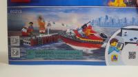 乐高60213 CITY Dock Side Fire Set Review LEGO积木砖家评测