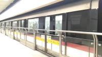 上海地铁1号线144号车锦江乐园站下行出站(莘庄站方向)