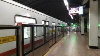 上海地铁1号线114号车莘庄站折返