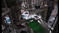 VR-2 rolling film cup filling and sealing machine