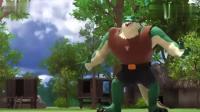 迷你特工队:鳄鱼怪吃掉了森林里的所有水果,4特工赶紧阻止啊