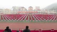 安化县萸江学校市运会团体操表演