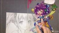 【初音未来11周年】【ERIKO】200分钟画出初音未来!