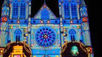 悉尼圣玛利亚大教堂圣诞灯光秀(2018.12.17)