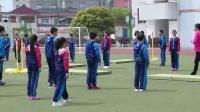 小學體育五年級《跨越式跳高》課堂教學視頻實錄-吳來風