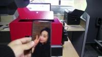 湖北洪湖市锦绣东城印家江开发的uv打印手机壳打印机