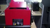 湖北省荆州市洪湖市锦绣东城印家江开发的A4UV手机壳打印机 仅需3分33秒的时间就可以完成一个手机壳的彩色打印