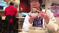日本大胃王吃100个水饺!