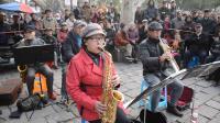 春光拍摄视频-171 常青管乐队 《波兰圆舞曲,勇往直前进行曲,歌唱祖国》