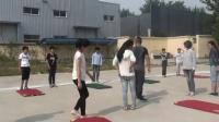 《彎道跑》人教版體育五年級,沙慶