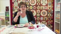 EPP英式纸样拼接-如何缝制六角菱形-手缝拼布手工DIY布艺
