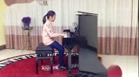 萱儿的第一次钢琴表演课老祖母的小步舞曲郊游去宝贝棒棒哒