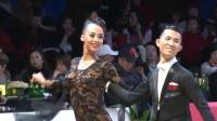 第七届中国体育舞蹈精英赛2019年国家职业队选拔赛S决赛SOLO狐步莫然 周洁