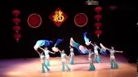 长扇子舞蹈_千里之外_古典舞群舞