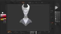 Zbrush精美3D角色塑造视频教程 12 - Personaje Difícil II