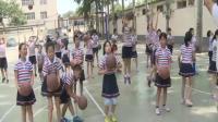《小篮球运球》科学版体育六年级,韩会军