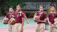 《小籃球運、傳球,投籃綜合游戲》科學版體育六下,歐知剛