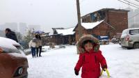 添添的第一场雪