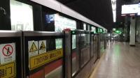 上海地铁1号线152号车莘庄站折返