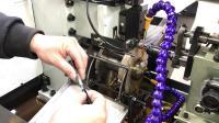 液压攻丝机  轴类|长工件|管料 全自动卧式攻牙机视频