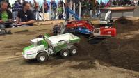 RC遥控小松挖掘机贝尔卡车