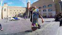 我在GoPro Skate Aurelien Giraud Skates 5 Lines in Barcelona截了一段小视频
