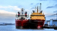 THOR EXPRESS CONNECTOR EXPRESS uvm offshore supply ships Emen Port Südkai