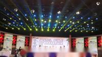 罗大友在《全国中医药健康知识大赛决赛现场》讲述茶文化。 地点:中国传媒大学传媒演播剧场;  时间:2018、12、16