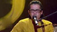 残疾小伙人残志坚,上台演唱原创歌曲,刘欢周华健都为之疯狂