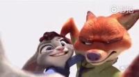 我在被《疯狂动物城》的这只狐狸和兔子虐了,配一脸。。截了一段小视频