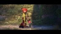 我在疯狂动物城: 兔子向狐狸道歉, 眼泪哗哗的截了一段小视频