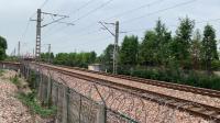 Z258次 HXD1D0261 通过沪昆线K146KM斜桥师古桥