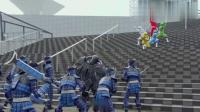 怪兽军团欲残害人类,动物战队兽王者紧急登场战斗消灭怪兽
