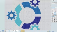 MoI3D - Урок по созданию логотипа ОС Кубунта
