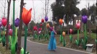 雪冰青春活力广场原创舞《富贵花开迎新年》含动作分解,演示;雪冰