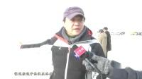 """越野爱好者青海乌兰上演""""穿越之旅""""体验冰上漂移"""