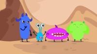 细菌来了—细菌搭苍蝇号旅行,苍蝇身上携带细菌,沾过的食物不能吃