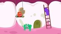 细菌来了—蜜蜜蛀牙了,教宝宝养成勤刷牙的好习惯