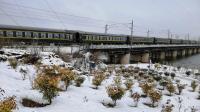 【寒假火车集】雪天拍车